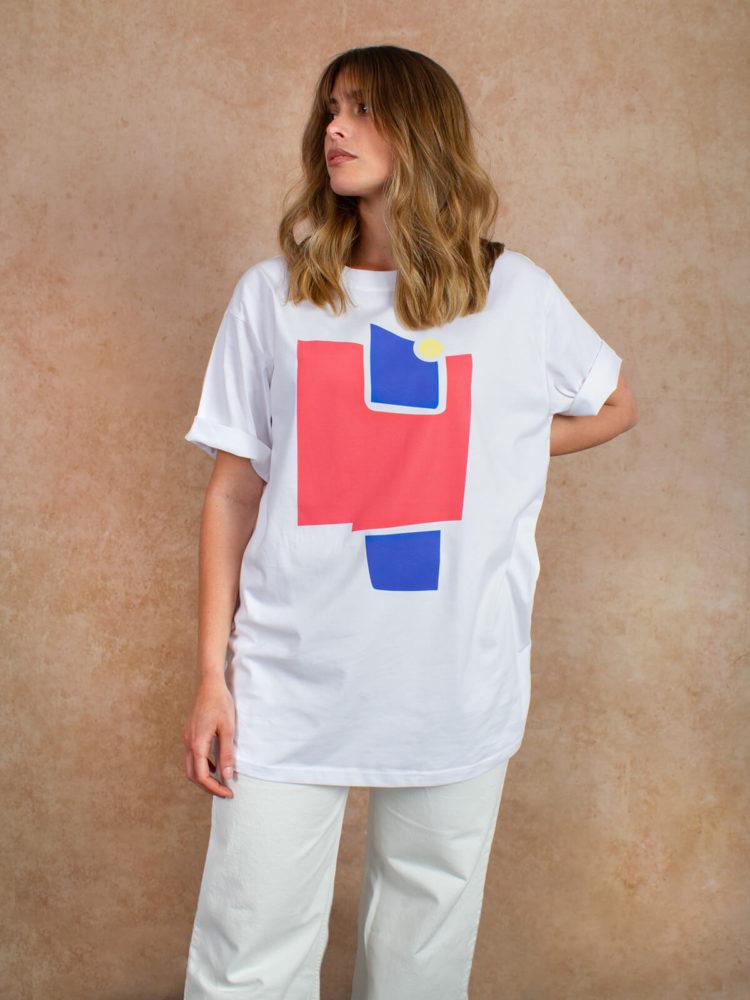 Camiseta estampada BAHE